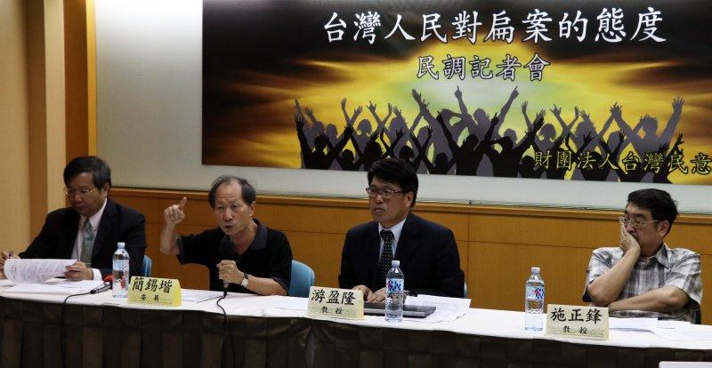 2016.10.24-台灣民意基金會「台灣人民對扁案的態度」全國性民調發表會-(蘇仲泓攝)