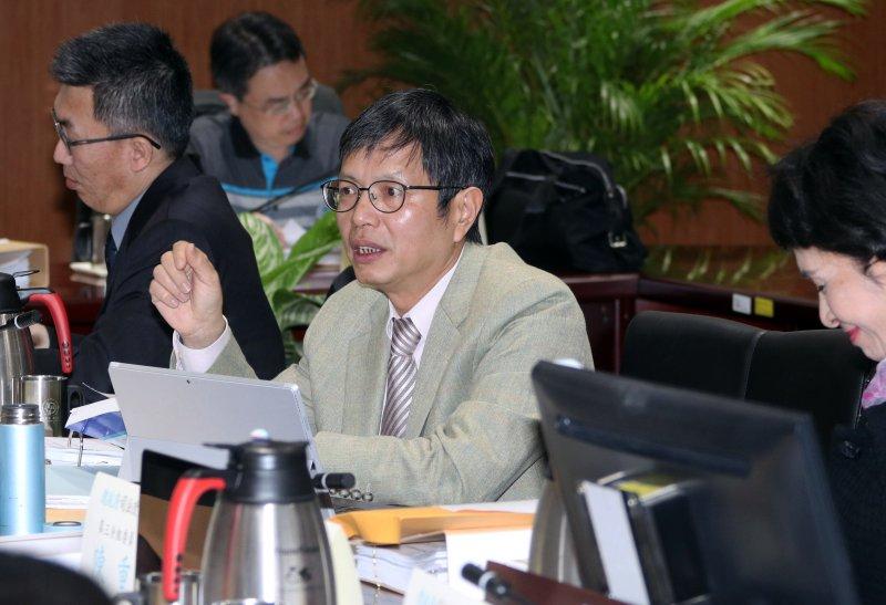 20170308-司改國是會議上午召開第三分組第二次會議,圖為分組委員林鈺雄。(蘇仲泓攝)