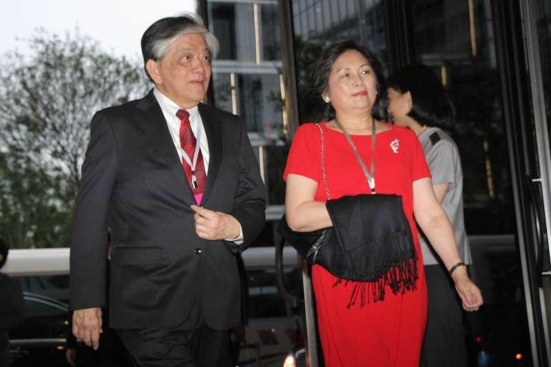 義美董事長高志明出席第14任總統、副總統就職國宴(葉信菉攝)