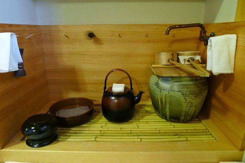 水屋,清洗相關茶具之處。