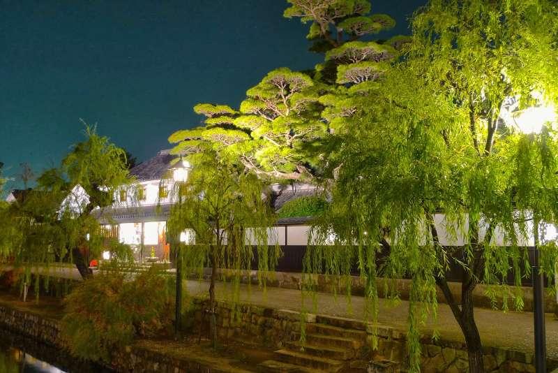 倉敷美觀地區的夜間照明請來石井幹子設計