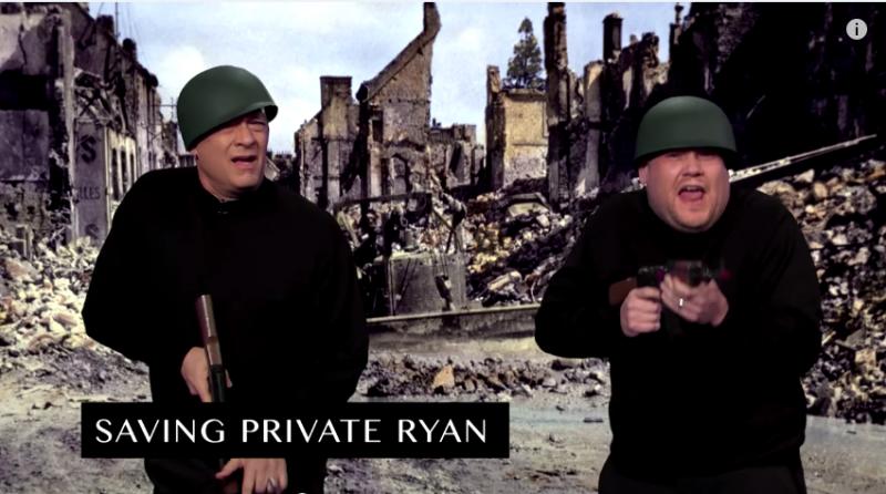 湯姆漢克在《搶救雷恩大兵》飾演勇敢堅毅的米勒上尉。