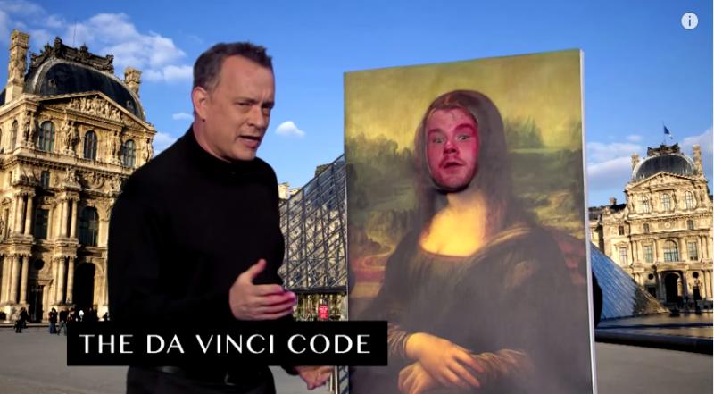 濃縮版《達文西密碼》,蒙娜麗莎的表情令人噴笑。