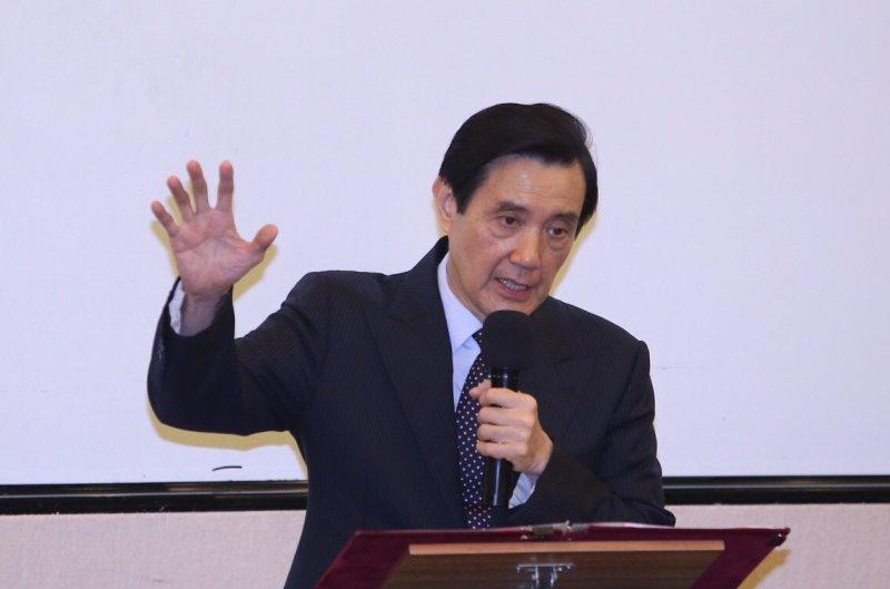 馬英九出席李友邦與嚴秀峰史料展(林韶安攝)