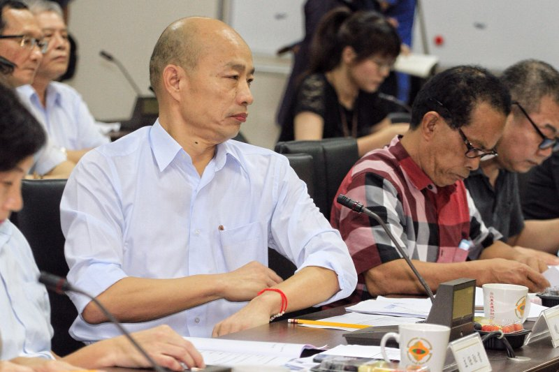 台北農產運銷公司董事改選爭議,總經理韓國瑜