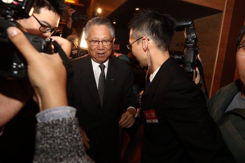 20170113百年大黨,十年風雲新書發表會,詹啟賢出席。