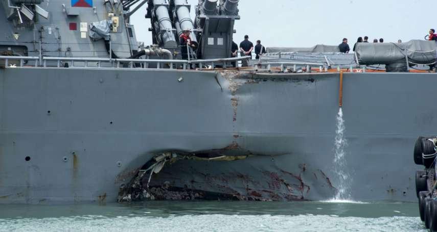 神盾艦撞不停,都是沒睡飽害的?駐日美軍擬將值勤時間改為固定制