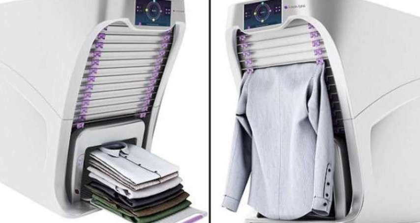 每次洗完衣服都超懶得疊?「自動摺衣神器」出來救眾生了!6秒就能折一件、整齊到想哭