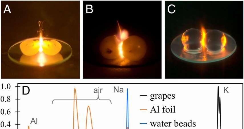 為何微波葡萄會「瞬間爆火球」?科學家犧牲12台微波爐,終於破解多年之謎!原因超神奇