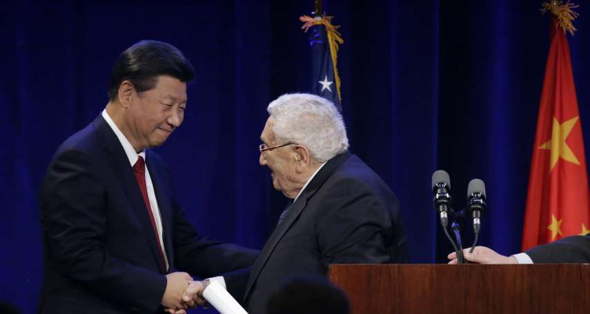 季辛吉警告:中美冷戰將帶來世界末日般的衝突!