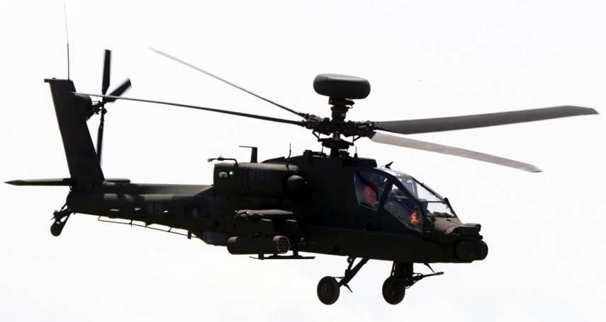 南韓阿帕契攻擊直升機 首度實彈試射地獄火飛彈