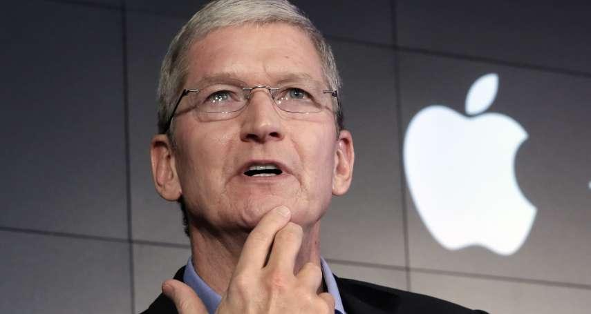 開後門爭議》蘋果執行長庫克回擊FBI:「開後門」就是危害公眾安全