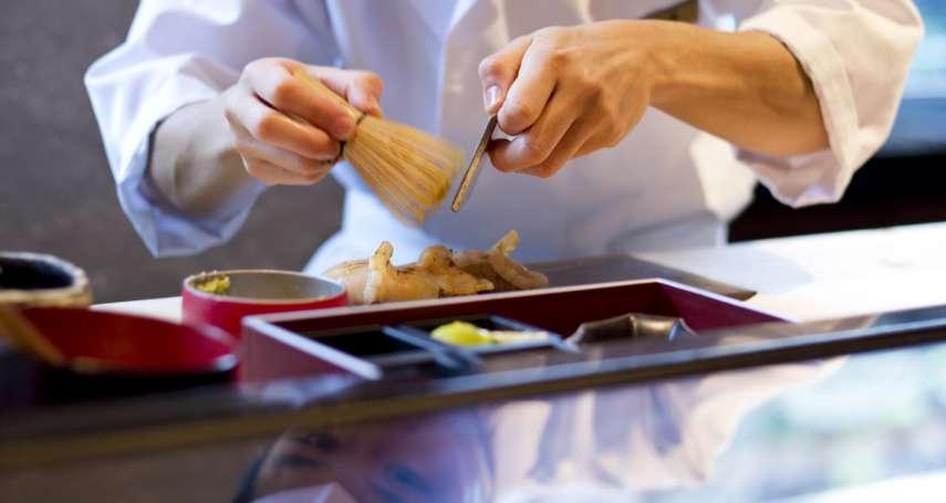 頂尖料理職人除了一流刀工,也要像銀座媽媽桑天天看報才抓得住客人