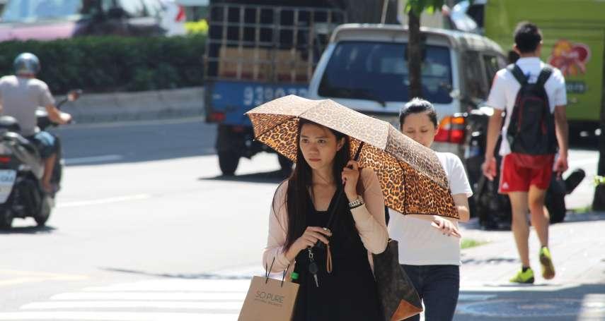 11月竟熱得像夏天!新竹驚見焚風 打破83年高溫紀錄