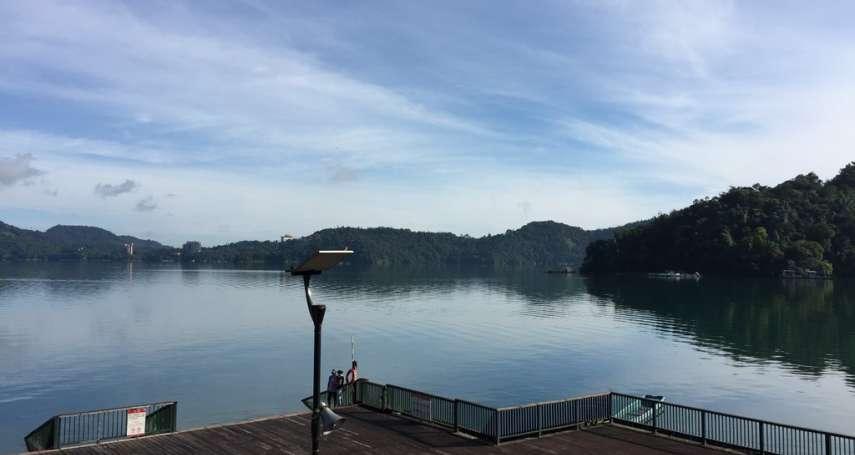 少了陸客的台灣觀光怎麼走?謝金河貼日月潭照:也許蔡英文連任「正是機會」