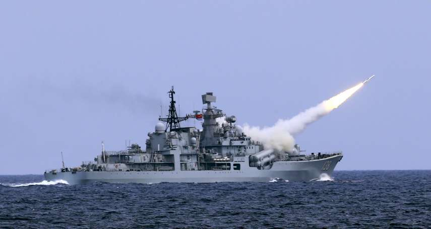 南海軍演才結束 中共解放軍18日台灣海峽實彈演習