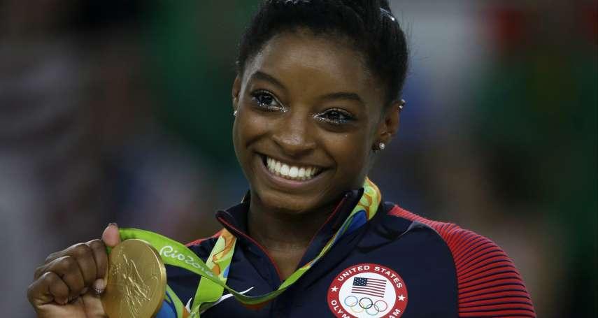 又一個受害者!美國體操「黑珍珠」奧運4金天后拜爾斯 也曾遭色魔隊醫性侵