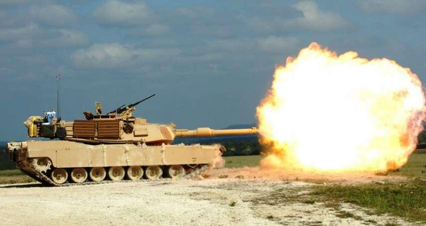 國軍改變「戰車打戰車」思維!暫緩採購M1A2戰車 全力發展「不對稱」戰力