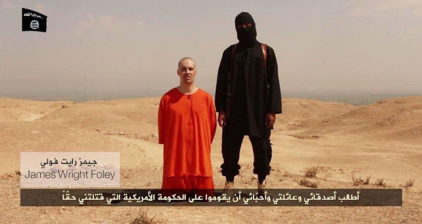 歷史上的今天》8月19日──慘無人道!伊斯蘭國公布美國戰地記者佛利遭斬首影片