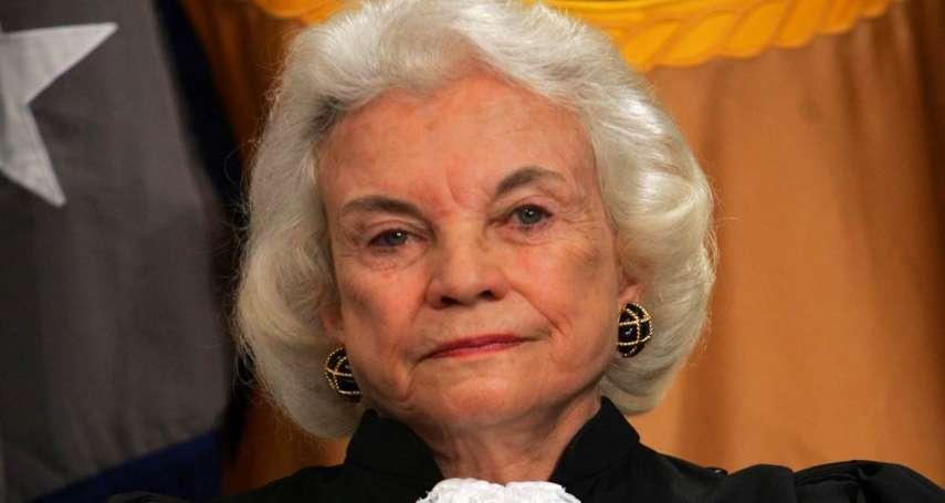 歷史上的今天》9月21日──打破司法殿堂性別藩籬  歐康納成為美國第一位女性大法官