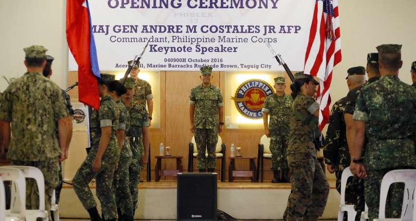 杜特蒂迫害人權遭美國拒賣菲律賓槍枝 中國見縫插針狂捐巡邏艇、榴彈發射器