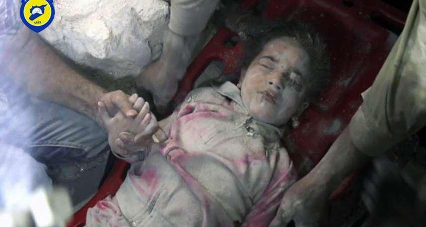 「親愛的莎瑪,此刻媽媽後悔生下了妳」女兒在戰火中牙牙學語,敘利亞母親用鏡頭寫下心碎情書