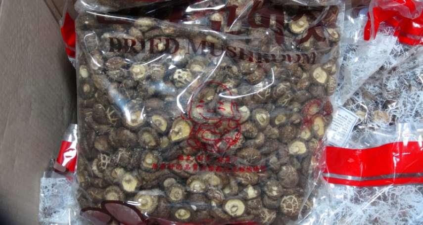 陸香菇非法混入台灣市場致滯銷 江啟臣批:不能「保台」,說再多都是政治口號