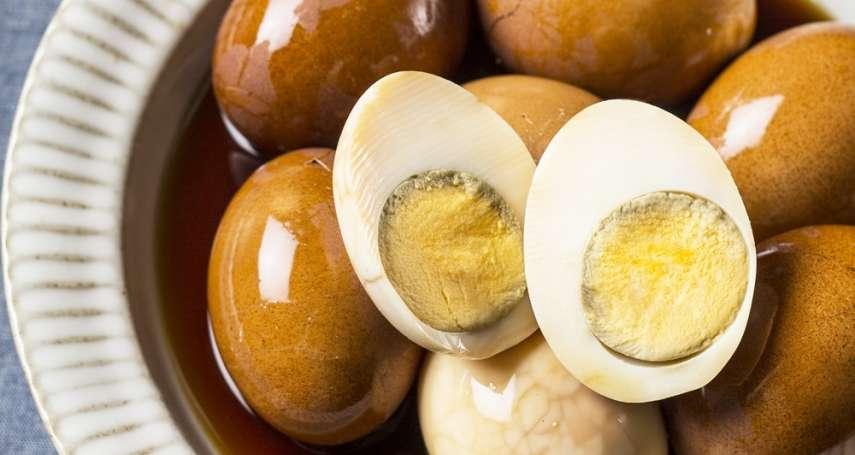 學會這道茶葉蛋食譜,就可以擺攤混飯吃啦!黃金比例配方吃了都喊「好滿足」