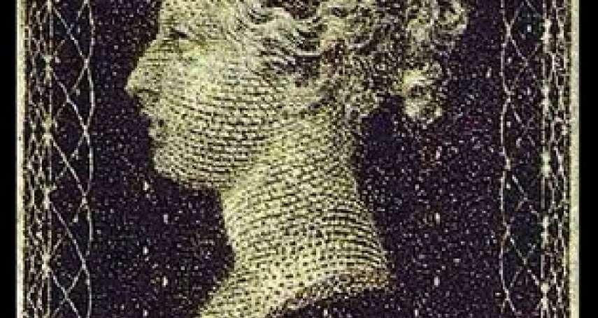 歷史上的今天》5月6日──全世界第一枚郵票、英國「黑便士」正式啟用
