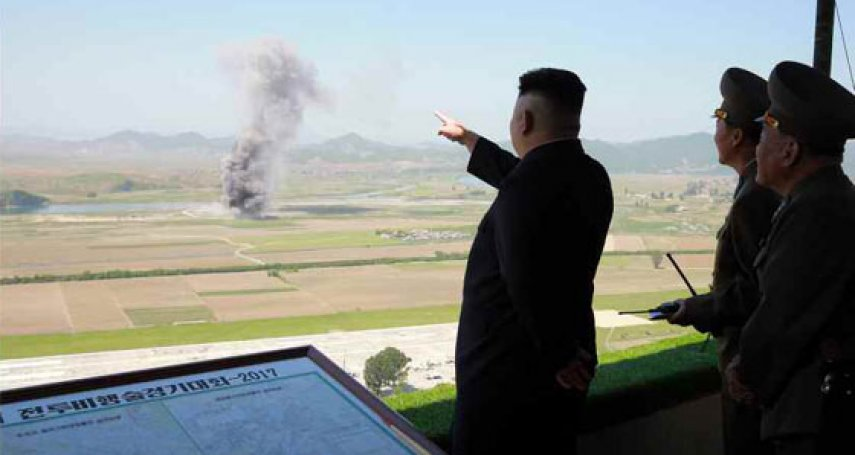 正告「還在高爾夫球場閒晃的美軍統帥」!北韓宣布攻打關島方案:8月中旬將射4枚「火星12型」飛彈
