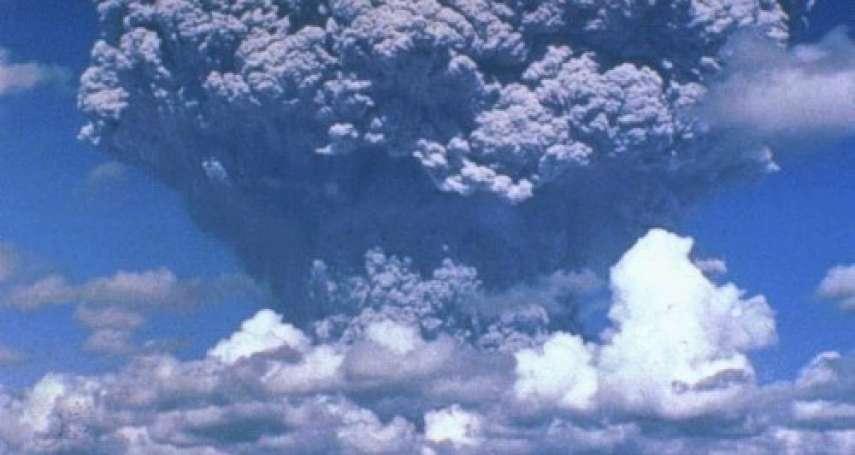 歷史上的今天》6月16日──菲律賓皮納土波火山大爆發,火山雲讓全球降溫0.5度