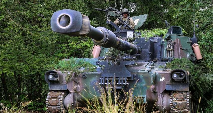 拜登首筆對台軍售出爐!美國售台40門「M109A6自走砲」