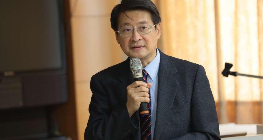 解嚴30周年》台灣進入後物質時代 吳玉山:同婚議題是繼統獨後,最影響民意的第2大議題