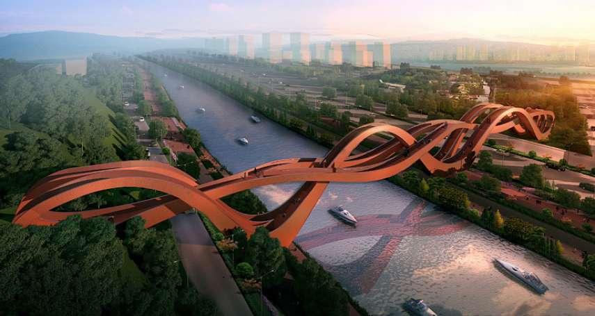 英國建築雜誌選出世界上最棒的5座橋,其中一座在台灣!桃園的「這座橋」入選