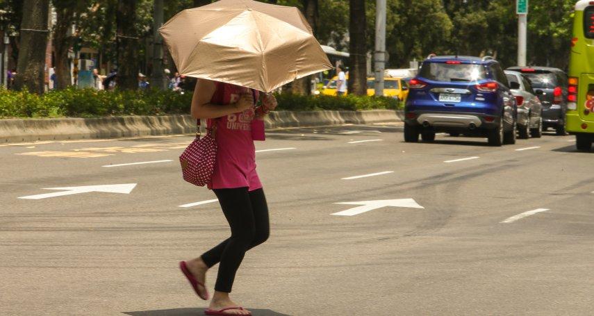 破120年來高溫紀錄,中央氣象局:史上最久酷熱天氣