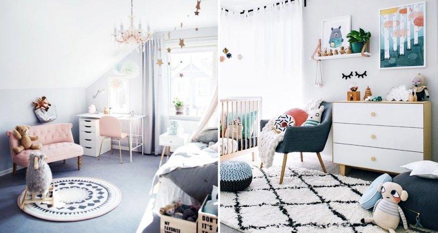 從小住在這樣的房間多幸福!4大粉嫩色系兒童房佈置,看完還真想變回小孩子