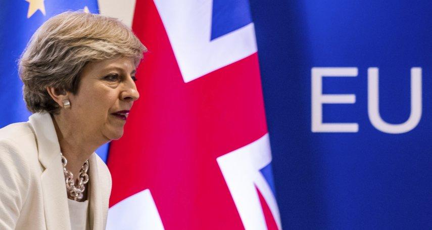 收拾脫歐殘局》擔心經濟崩盤 英國想跟歐盟建立臨時關稅協定
