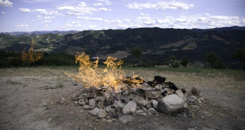 世界最小火山高約「1公尺」 居民當成「天然瓦斯爐」
