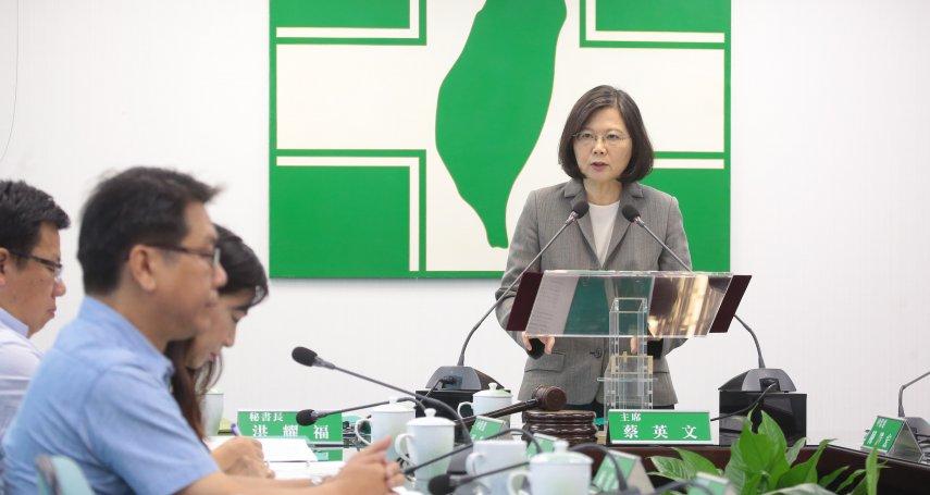 夏珍專欄:蔡英文與民進黨,互為彼此的夢魘