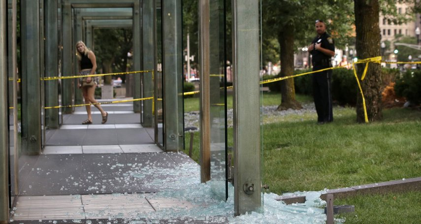 今夏第2次!波士頓猶太大屠殺紀念碑遭蓄意破壞 猶太組織:不可能只是巧合