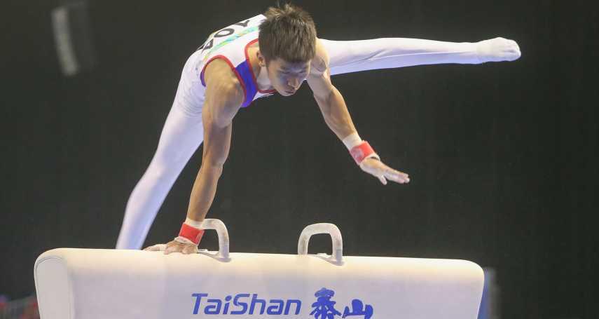 翻滾男孩李智凱鞍馬奪金 台灣史上體操第二金到手