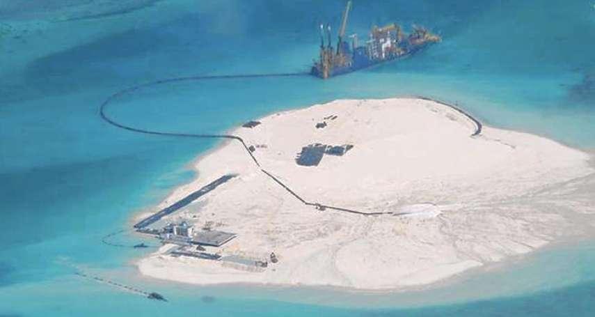 新新聞》公海軍演畫設禁航區,中國鯨吞蠶食南海