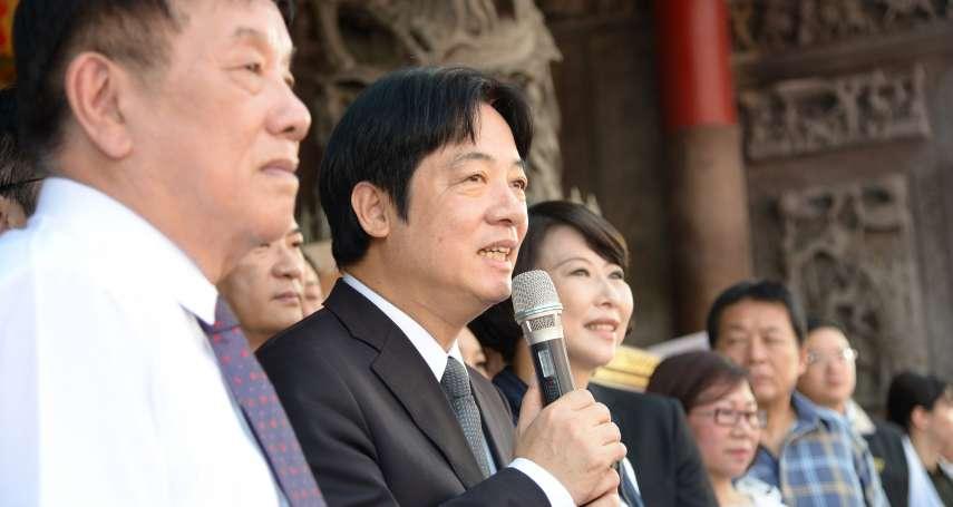 首度以院長身分回娘家 賴清德赴台南「台灣首廟天壇」祭拜