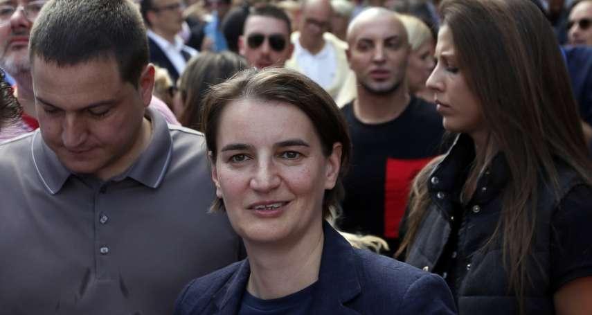 塞爾維亞同志遊行》彩虹旗飄揚貝爾格勒 出櫃女總理現身力挺