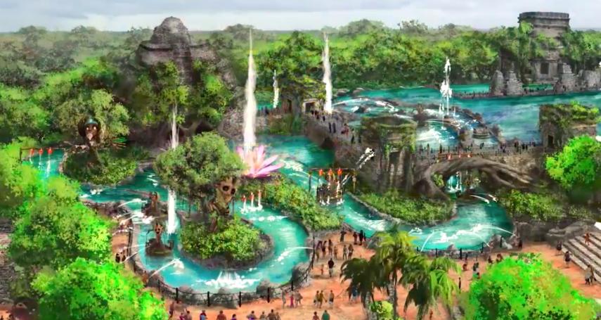 別以為墨西哥只有毒梟、扒手!墨國將蓋一座超大遊樂園,園區規劃幾乎比迪士尼更強大
