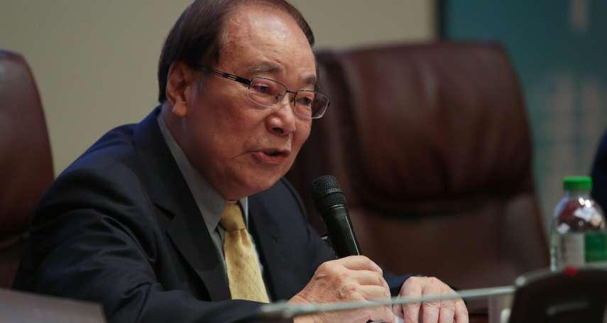 特赦阿扁提案 張俊雄:蔡英文要圓滿解決,是很困難的事