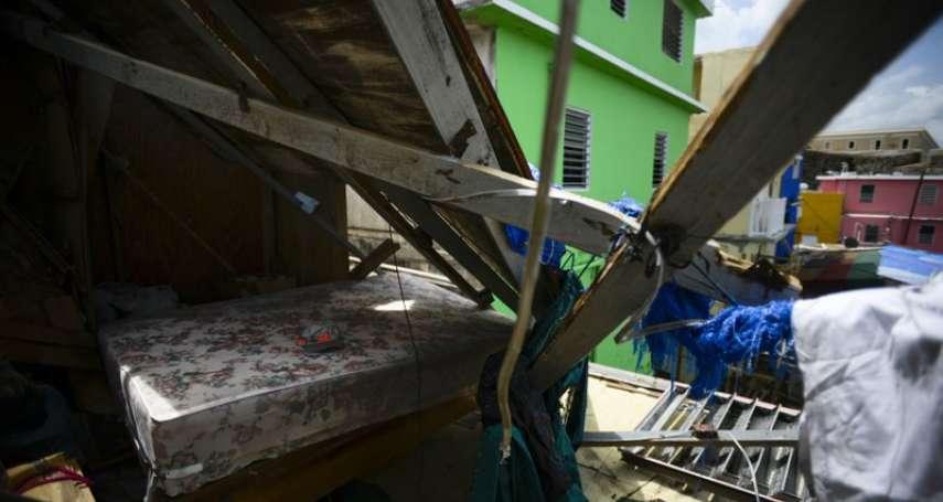 颶風重創的波多黎各幾淪為廢墟 停電缺水缺糧 苦等美國政府援助