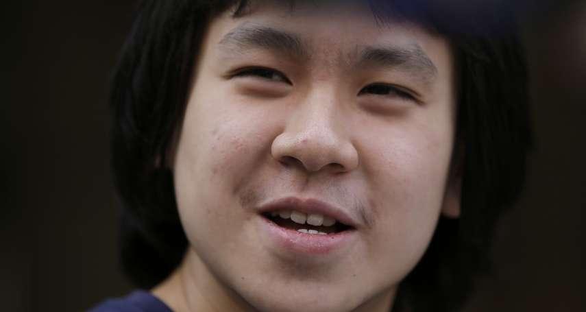 批評李光耀兩度入獄 新加坡少年余澎杉獲美政治庇護