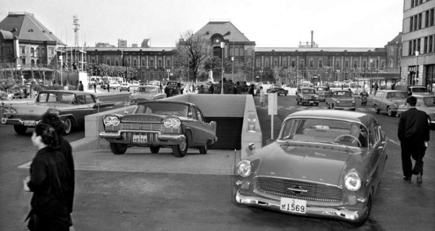 65年前的澀谷站前長這樣!10張老照片對比今日,讓人驚呼東京發展之神速啊