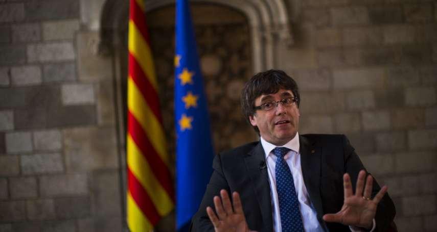加泰隆尼亞獨立公投1周年 前自治政府主席普吉德蒙要組「流亡政府」